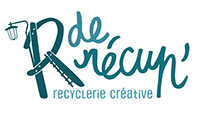 R de Récup' Recyclerie créative Logo